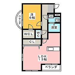 メゾン ド オーブIII[3階]の間取り