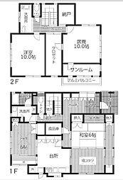 [一戸建] 神奈川県相模原市南区相南1丁目 の賃貸【/】の間取り