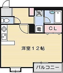 パラッツオ[4階]の間取り