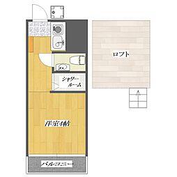 PIA4[1階]の間取り