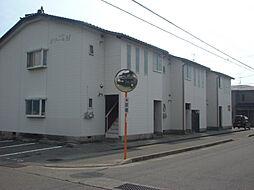 石川県野々市市三納3丁目の賃貸アパートの外観