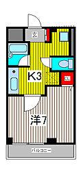 コ−ポフタバ[1階]の間取り