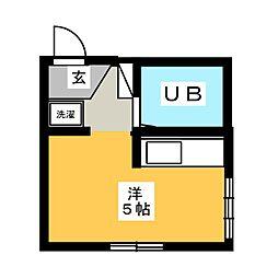 FUJI Co−Po[2階]の間取り