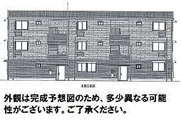 D-room可部3丁目B棟[302号室]の外観