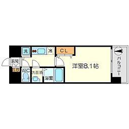 ジュネス新大阪レジデンス[2階]の間取り