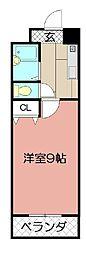 ウインズ浅香II[713号室]の間取り
