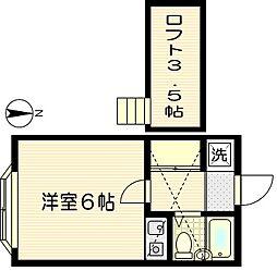 アーバンライフA棟[2階]の間取り