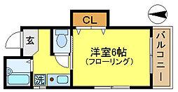 永和第3ビル[4階]の間取り