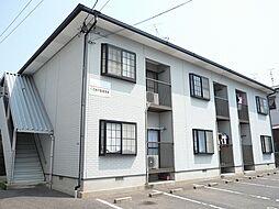 福岡県古賀市天神5丁目の賃貸アパートの外観