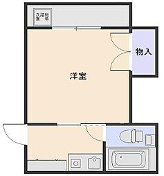 神奈川県相模原市中央区陽光台4丁目の賃貸マンションの間取り