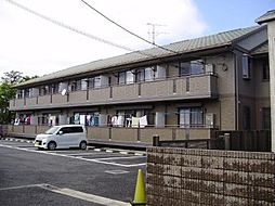 東京都世田谷区宇奈根2丁目の賃貸アパートの外観
