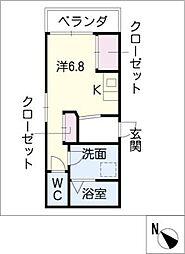 オリボトキワ[2階]の間取り