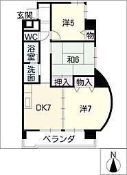 アーバンシート高蔵[8階]の間取り