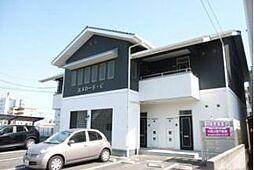 岡山県岡山市北区中仙道1丁目の賃貸アパートの外観