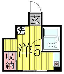 久保ビル[2階]の間取り