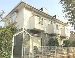 東京都町田市東玉川学園1丁目の賃貸アパートの外観