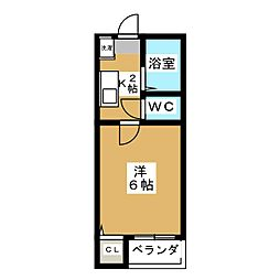 ガーデンコートI[2階]の間取り