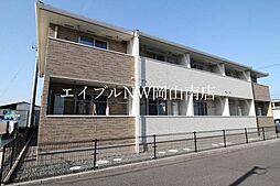 JR山陽本線 岡山駅 バス15分 木材市場前下車 徒歩1分の賃貸アパート