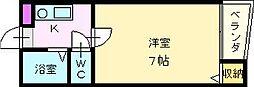 ミドウスジ堺[2階]の間取り