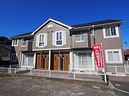 福岡県北九州市若松区白山1丁目の賃貸アパートの外観