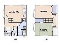 [一戸建] 広島県広島市西区井口3丁目 の賃貸【/】の間取り