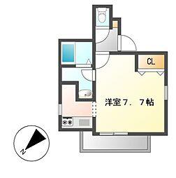 (仮称)Cherim上飯田[2階]の間取り