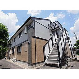 奈良県北葛城郡広陵町みささぎ台の賃貸アパートの外観