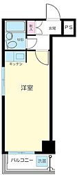 東京都台東区東上野5丁目の賃貸マンションの間取り