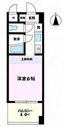 東京都八王子市明神町4丁目の賃貸マンションの間取り