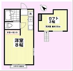 シダーハウス片倉町[2階]の間取り