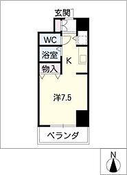 IZM36[2階]の間取り
