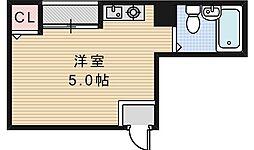 サンハイツ昭和町[4階]の間取り