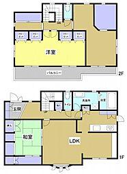 [一戸建] 静岡県浜松市西区坪井町 の賃貸【/】の間取り