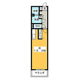 キャッスル常滑 西棟[2階]の間取り