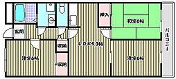 メゾン貴望ヶ丘[4階]の間取り