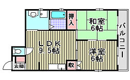 ドナーズマンション[306号室]の間取り