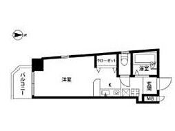 ヴェルドミール国立[2階]の間取り