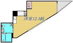 神奈川県川崎市宮前区鷺沼2丁目の賃貸マンションの間取り