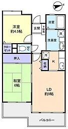 emラフォーレ実籾[2階]の間取り
