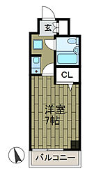 ライオンズマンション相模大野第6[5階]の間取り
