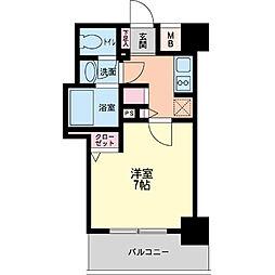 パシフィックレジデンス神戸八幡通[1203号室]の間取り