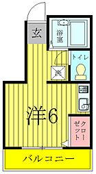 TKコーポ[2階]の間取り