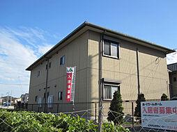 エコーズユタカ A棟[201号室]の外観