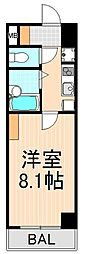 FCプレミール竜泉[203号室]の間取り