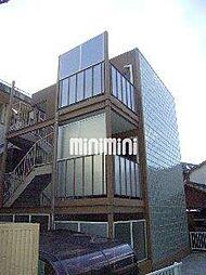 岡山県岡山市北区三門東町の賃貸マンションの外観