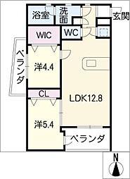 SK'BUILDING−9S棟[2階]の間取り