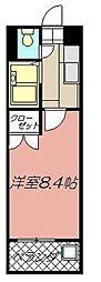 アリビオ黒崎[703号室]の間取り