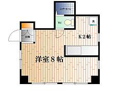 リバーサイドマンションII[E号室]の間取り