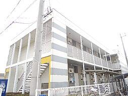 大阪府大阪市東住吉区住道矢田9丁目の賃貸アパートの外観