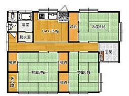 [一戸建] 長野県松本市惣社 の賃貸【/】の間取り